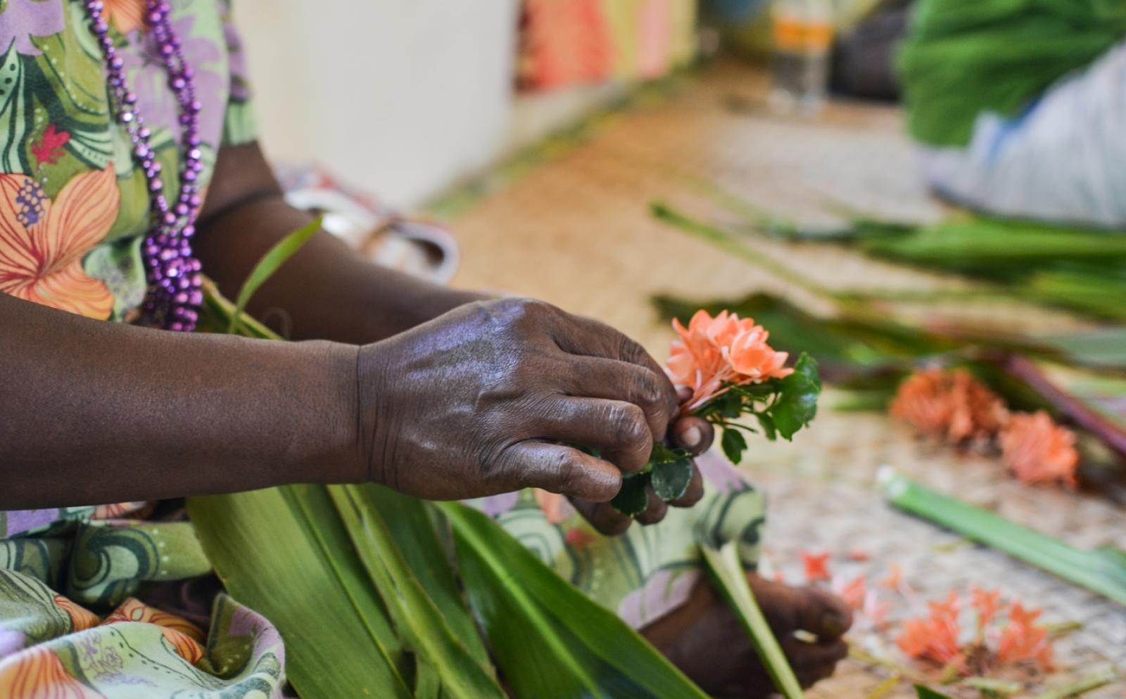 南太平洋の発展途上国で海外ボランティア